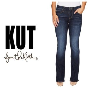 Kut from the Kloth Natalie Kurvy Bootcut Jeans👖